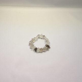 Tibetan-quartz-double-terminated-bracelet